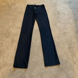 Katrina Anywear Black Flare Dance Pants